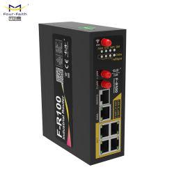 F-R100 3G/4G LTE de soutien de routeur Modbus TCP/IP VPN ouvert