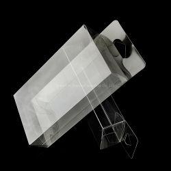 Пользовательский жесткий башмак коробка для хранения наращиваемые пластиковой упаковки с крышкой