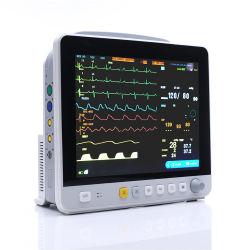 병원 장비 12.1인치 HD 화면 다중 파라미터 바이탈 사인 환자 모니터