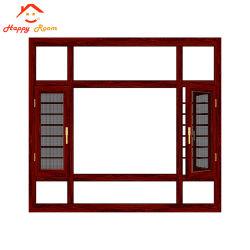 Классический стиль Happyroom Деревянные зерна пользовательские размеры алюминиевая дверная рама перемещена из алюминия и боковой сдвижной двери и окна из Китая для изготовителей оборудования на заводе