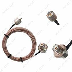 Loss Loss Loss L259 Head Port Antenna قنطرة توصيل RF Teflon Coaxial شبكة الكابل 316 مخصصة