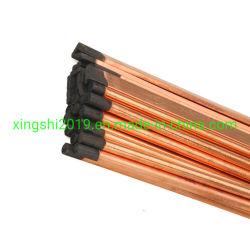 Arco rivestito di saldatura dell'aria del rame di uso che sgorbia carbonio Rod