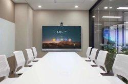 """DS tech 65"""" 75"""" 85"""" educação tela sensível ao toque (DV18) placa digital smart 4K quadro branco interativo com marcação RoHS FCC"""