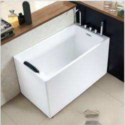 新しいCupcの固体表面の鉱泉の浴室アクリルの継ぎ目が無い衛生製品の支えがない浴槽