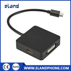 1대의 접합기에 대하여 HDMI/DVI/VGA 3에 소형 Displayport