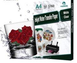 Venta directa de fábrica4 tobogán de agua de un láser de transferencia de la etiqueta de papel de imprenta