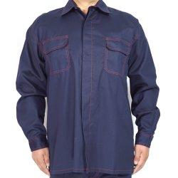 ملابس SGS الوظيفية مقاومة لهب الشفاه من قماش كنت Fleece لملابس العمل