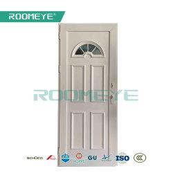 Panel único de UPVC// el vinilo de PVC de la puerta de bisagra de puerta Sandwich Swing puerta a puerta interior