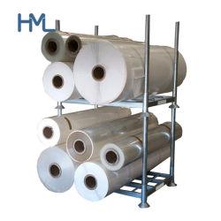 Apilable de servicio pesado metal ajustable Textil Rollos de Acero Estantes de almacenamiento de palets