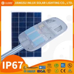 스위치 떨어져에를 가진 다결정 옥외 방수 주문품과 양도할 수 있는 가격 250W 소형 휴대용 태양 가로등