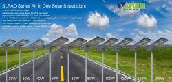 1개의 LED 태양 가로등 정원 제품에서 20-200watts PIR 움직임 Srnsor 전부