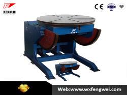 Automatischer Drehstellwerk-Schwenktisch des schweißens-600kg