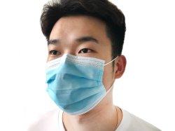 Het medische Beschermende Beschikbare niet Geweven 3ply Masker van het Gezicht