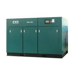 100 % exempt d'huile de type sec compresseur à air rotatif à vis pour les aliments et boissons