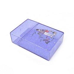 حقيبة بلاستيكية شفافة دائرية من السجائر 20 كمبيوتر سعة السجائر بالتبغ ملحقات التدخين سهلة الحمل