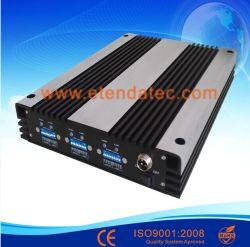 20dBm 70dB GSM 900MHz Band van de Telefoon van de Cel van de Versterker Dcs1800 3G 2100 Lte FDD de Hulp Drievoudige de Mobiele Repeater van het Signaal