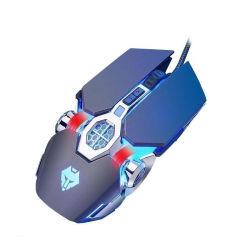 Cable profesional de la Oficina de juegos electrónicos E-Sport ratón USB.