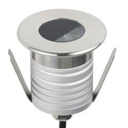 ضوء LED صغير خارجي تحت الأرض مقاوم للمياه بقدرة 1 واط تيار مستمر بجهد 12 فولت وقدرة 12 فولت إضاءة أرضية مدفونة مصابيح سطح المصابيح إضاءة أرضية LED تحت الماء