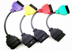 Multiecuscan für Fiatecuscan FIAT elektronisches Bediengeraet Scan-Kabel-Adapter A5