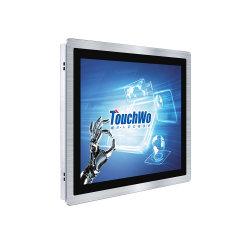 12V DC industrial IP67 Face Frontal do Monitor de ecrã táctil de estrutura aberta 15,6 19 21,5 polegadas