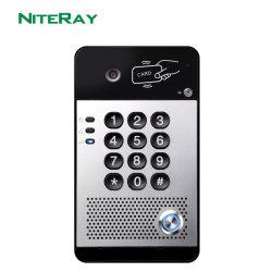 هاتف جديد جرس الباب، نظام الاتصال الداخلي لهاتف باب الصوت مع بطاقة التحكم في الوصول إلى الباب