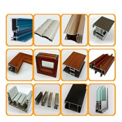Profil en aluminium de vente chaude pour la fenêtre et de la porte