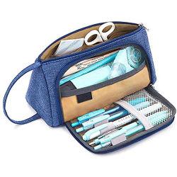 Viajes de la moda de la bolsa de maquillaje bolígrafo multifunción de la escuela secundaria media bolsa caso Lápiz