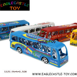 버스 장난감 또는 아이들 버스 또는 경찰차 또는 Playset 또는 가늠자 소형 버스 Buscoach 또는 강화된 차 또는 유아 소녀 장난감 또는 소년 장난감 차량 장난감을 배우는 Childred 선물 /Educational