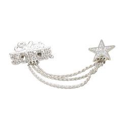 المجوهرات بالجملة بروشز الملكة شارة أللوي الانجليزية ورق بروش دبابيس مصانع لحرف المرأة (بروش-01)