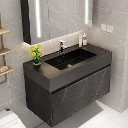 Современный пользовательский ванную комнату мебель высокого качества металлокерамические камень ванная комната в левом противосолнечном козырьке