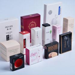 Impression personnalisée divers cosmétiques/aliments/produits électroniques/Médecine/Candle/parfums/rouge à lèvres hydratant//Masque petit papier simple emballage en carton la case Imprimer