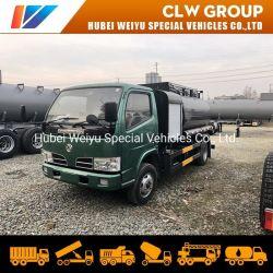 Dongfeng personalizada Unidad derecho 5M3 5cbm pequeña cisterna de combustible con bomba de aceite y camión dispensador el dispensador de repostaje