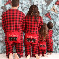 Pyjama's van Kerstmis van de Jonge geitjes van de Familie van Bolas Navidad van het Vakmanschap van de Toebehoren van Kerstmis de Fijne Goedkope