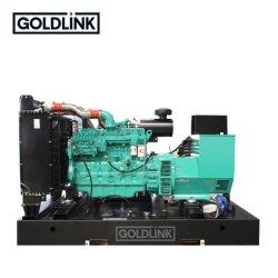 مجموعة مولدات ديزل جيدة السعر من النوع المفتوح بقدرة 250 كيلوفولت أمبير مع الصينية المحرك شانجشاي