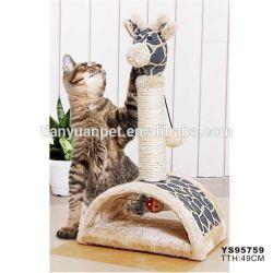 Kat Scratcher die PostKatje de krassen beklimt Stuk speelgoed van het Centrum van de Kat van Pool het Actieve