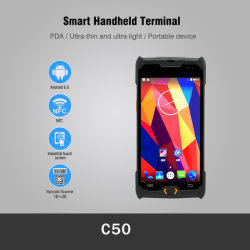 Bluetooth / 4G / WiFi 5.0 Сенсорный Экран Android Data Collector PDA C50