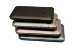 Станции питания USB/ резервный аккумулятор емкостью 6000 Мач зарядное устройство для мобильных ПК iPad/iPhone/iPod и смартфонов (Blackberry, Nokia, Samsung, HTC, MOTO)