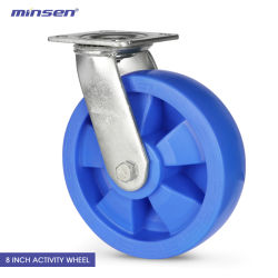 Minsen Heavy Yupa Caster 나일론 휠 - 산업 장비용 회전