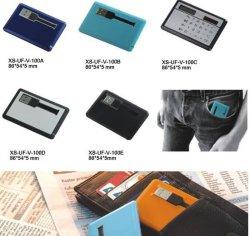 Formato de cartão de crédito de 4 GB Flash Drives