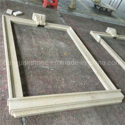 Personnaliser la fenêtre de sculpture sur marbre Surround