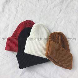Venda quente no inverno Moda Unissexo Chapéus de malha quente Personalizado Tampa Esqui Beanie Chapéus