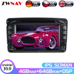 Автомобильная мультимедийная DVD плеер для Бенц ML W163/W2092002-2005 Clk C-Класса W203 Slk Android Радио стерео Px6 автомобильной навигации GPS блок головки блока цилиндров
