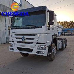 低価格の使用されたSinotruk HOWOの索引車のトラクターのトラックヘッド6X4トラクターのトラック