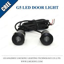 G5 LED السيارة الباب شعار الباب شبح ضوء الظل 12 فولت 5 واط