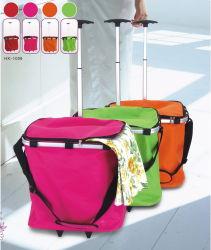 車輪(HX-1009)の最もよい品質の洗濯袋