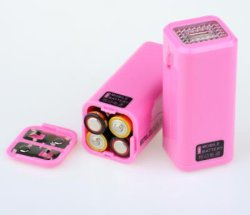 Carregador de telefone móvel de emergência alimentado por bateria AA de 4 PCS aprovado