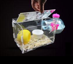 Прозрачный пластиковый высокого качества акриловые Пэт отсек для танцующего хомяка
