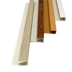 박판 PVC U 단면도 플라스틱 벽과 천장 클래딩 가장자리 손질