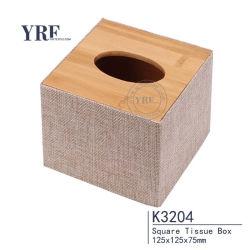 Yrf Fancy cuir imperméable en forme de serviette de table boîte de tissu