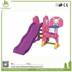 普及した屋外の庭のプラスチック赤ん坊の振動スライドの高品質の演劇の一定の安全子供の振動